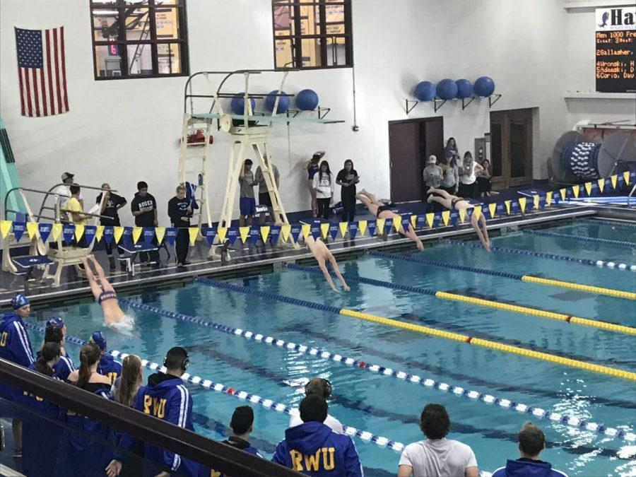 The+Roger+Williams+University+men%27s+and+women%27s+swimming+and+diving+teams+defeated+University+of+Massachusetts+Dartmouth+on+Saturday%2C+Nov.+11.