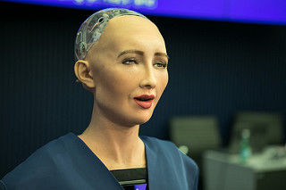 Sophia the A.I. will take over the world