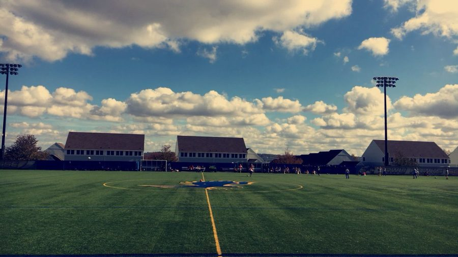 Roger Williams athletics is beginning to align with the university's color changes, resulting in varsity sports needing new uniforms and repainted playing facilities like Bayside Field.