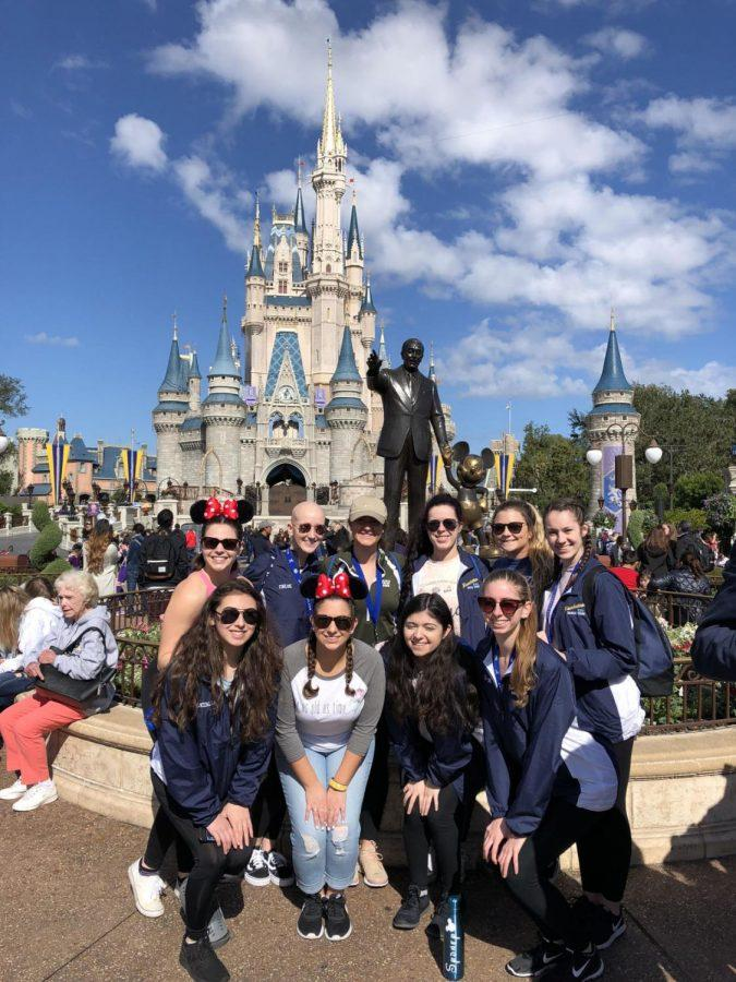 Hawkettes Compete in Disney