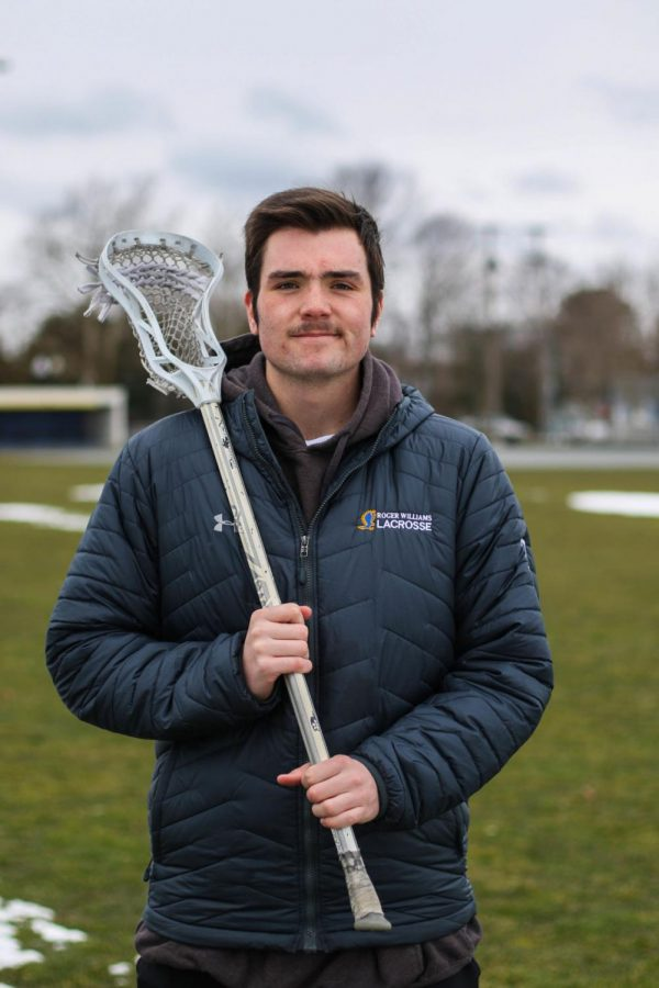 Freshman Tim Mullane is the budding star of the men's lacrosse team.