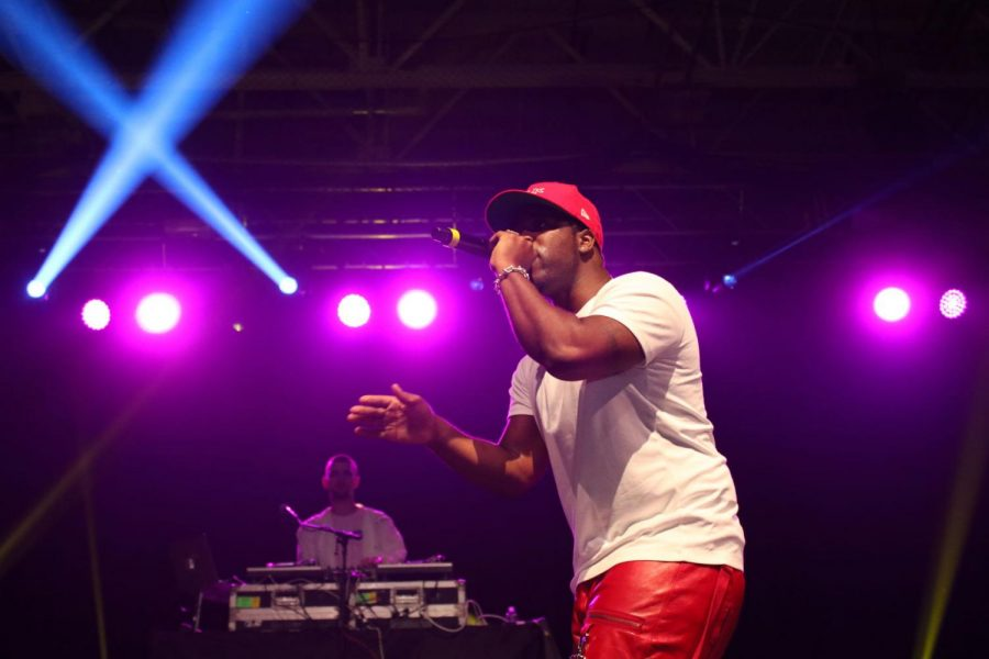 "A$AP Ferg headlined this year's Spring Concert hosted by CEN. He rapped some of his hottest songs, inluding ""Shabba"" and ""Plain Jane."""