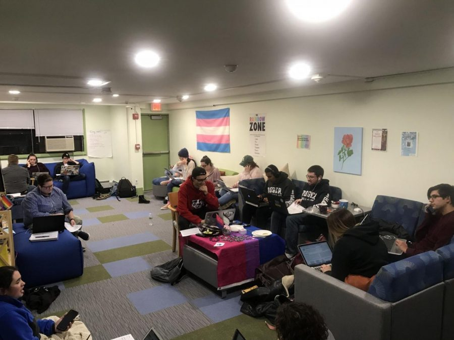 RWU students phone bank to protect trans rights in Massachusetts