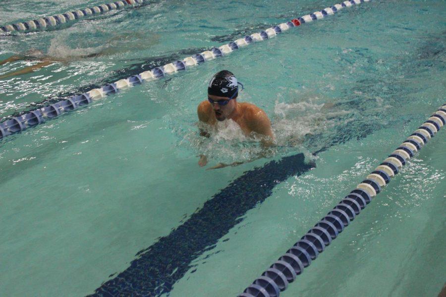 Men's Swimming dominates in home invitational