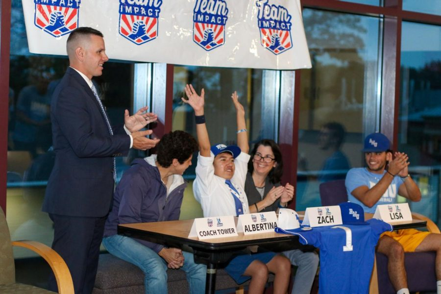 Baseball Signs New Member to the Team