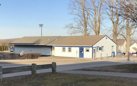RWU's Mail Center is pictured here in its current location, where it receives and processes 72,000 packages annually.