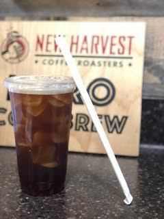New Harvest's Nitro cold brew is a new beverage option at the Starbucks in GHH.