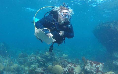 Rachel Howard is graduating with a degree in marine biology.
