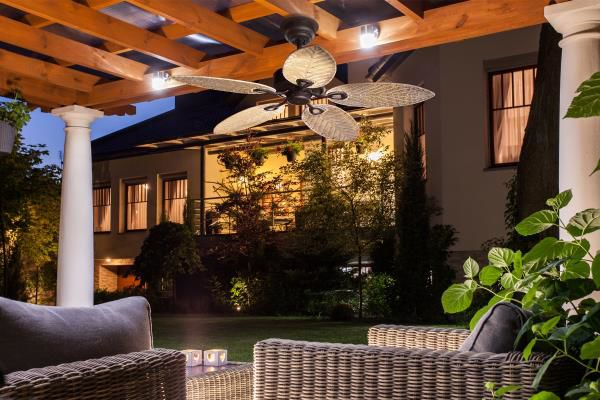 Add+style+and+comfort+to+outdoor+living+spaces+with+outdoor-rated+fixtures.