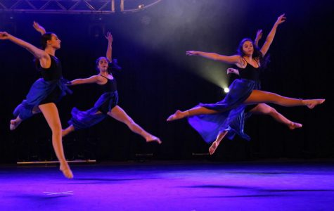 Dance Club lights up the field house