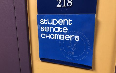 The Student Senate Chambers are located in the Recreation Center on campus.