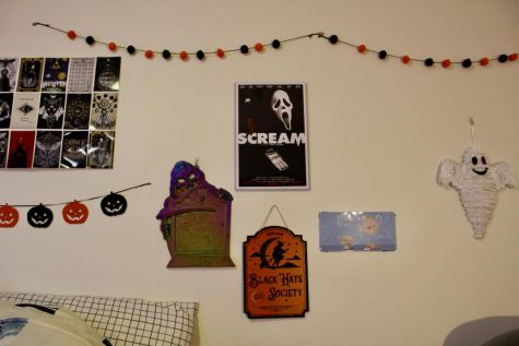 Dollar Tree decorations are easy on the wallet and amazing on the walls like these items that (un)liven up the room.