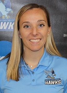 Kristina Keddie has worked as an athletic trainer at Roger Williams University for more than two years.