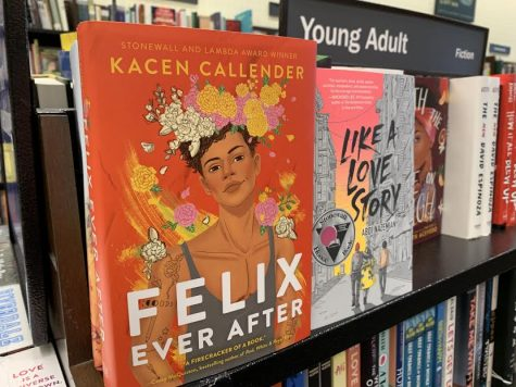 LGBTQ romance novels can be found at bookstores in the young adult section.