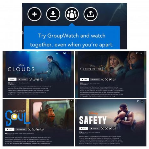 Disney+ has added the GroupWatch feature to its popular streaming service to allow multiple people to view a movie together in different locations.