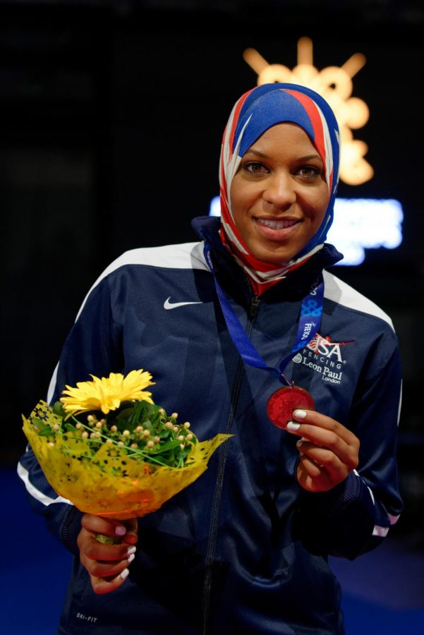Ibtihaj Muhammad was the first Muslim-American to win a medal at the Olympics as well as the first woman to wear a hijab for Team U.S.A.