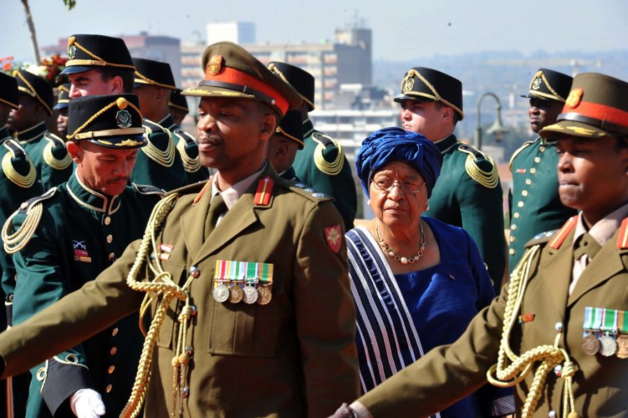 Ellen Johnson Sirleaf became the first female head of state in Africa when she was sworn in as President of Liberia in 2006.