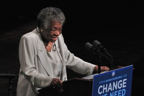 Maya Angelou won several awards for her work in literature.