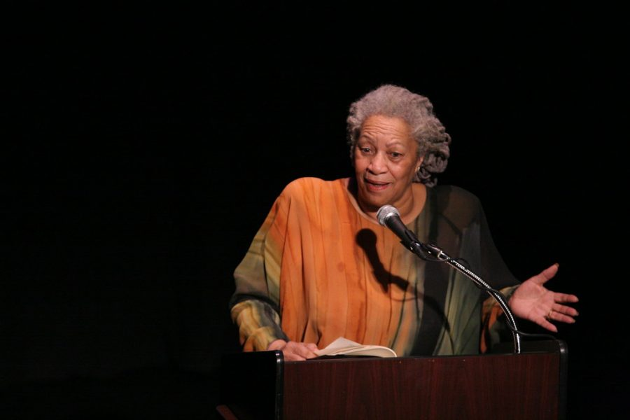 Toni+Morrison+published+many+pieces+of+literature+with+most+of+them+focused+on+the+Black+experience.+