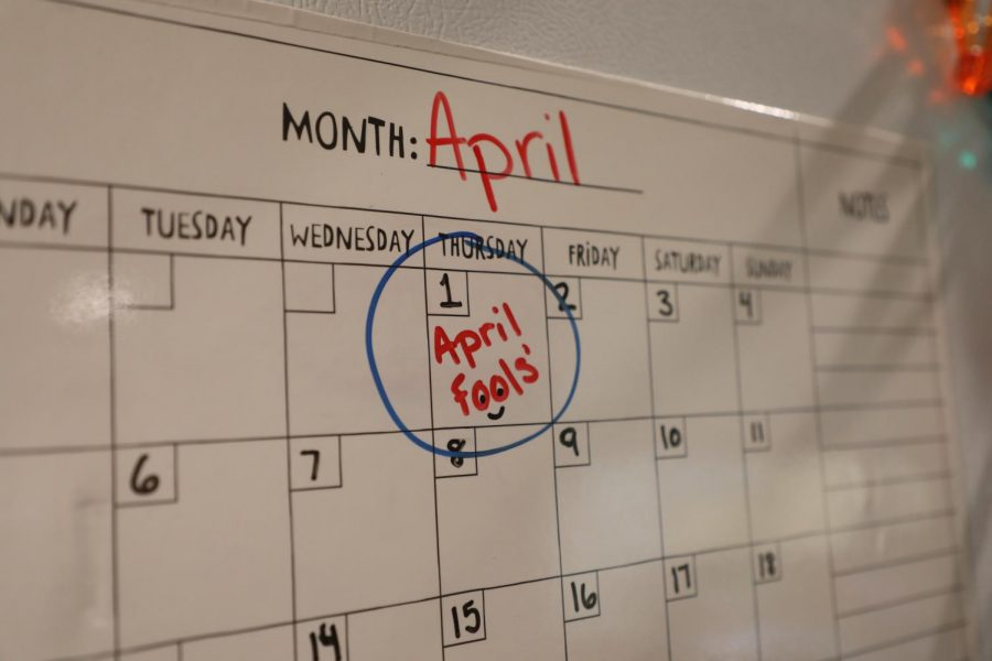With April Fools' Day quickly approaching, students should prepare for a day of practical jokes.