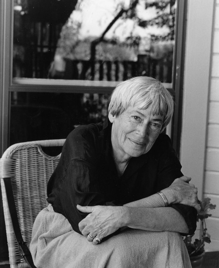 Ursula+K.+Le+Guin+redefined+the+genre+of+science+fiction+when+she+began+publishing+in+1966.+