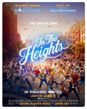 'In the Heights' will be available in theaters and on HBOmax starting June 11.