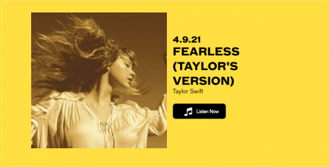 "Taylor Swift has re-recorded her 2008 album ""Fearless"" which was released on April 9, 2021."