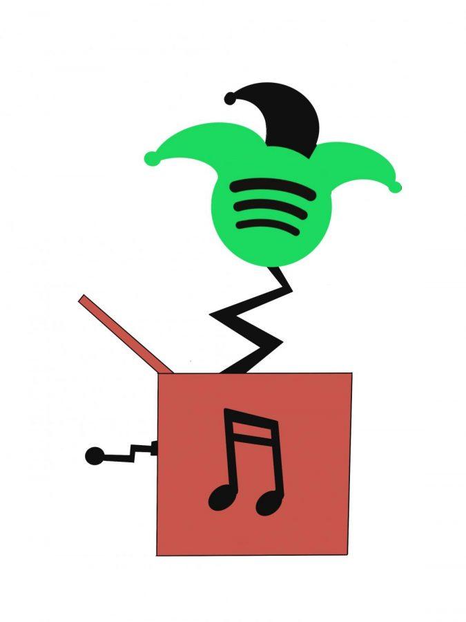 Celebrate April Fool's Day on Spotify.