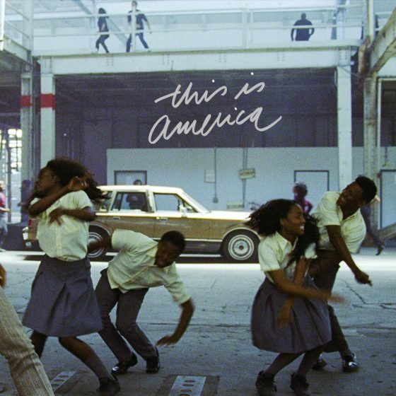 Childish Gambino released 'This is America' in 2018. The music video contained many pieces of American history symbolism.