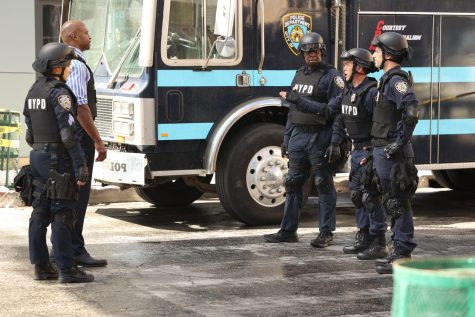 A scene from the seventh season of Brooklyn 99. The show will end after this current season after being on the air since 2013.