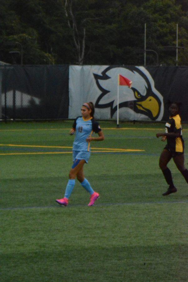 Junior forward Bianca Robbins has scored 7 of the 12 goals for the Hawks so far this season.