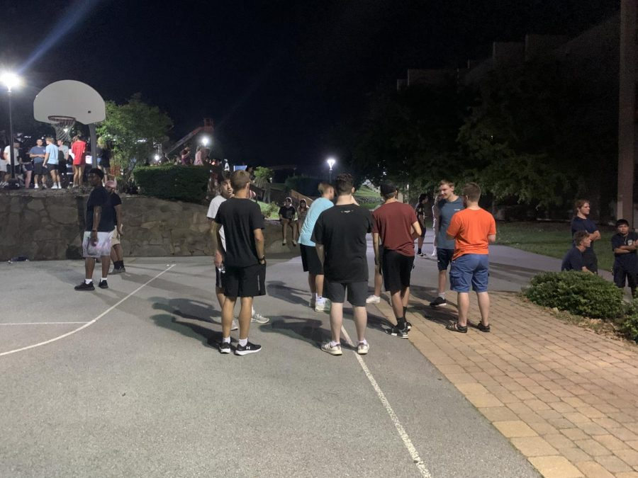 The Weeks of Welcome events began on Thursday, Aug. 26. The event was hosted by IRHA and The Hawks Herald and had two food trucks first-year students could choose from.