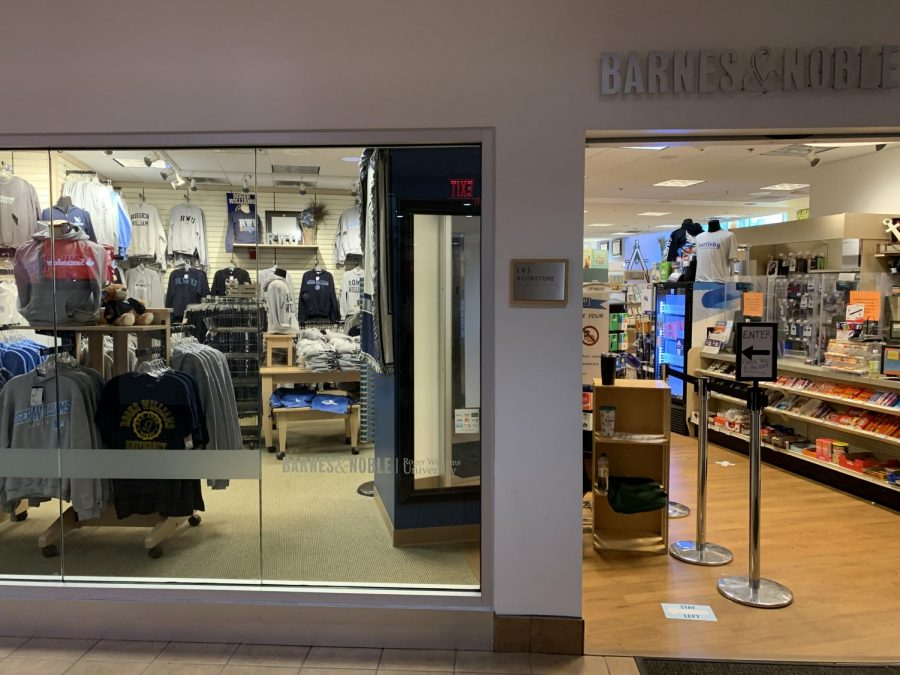The RWU bookstore is located next to Lower Commons and has lots of school swag to add to your wardrobe.