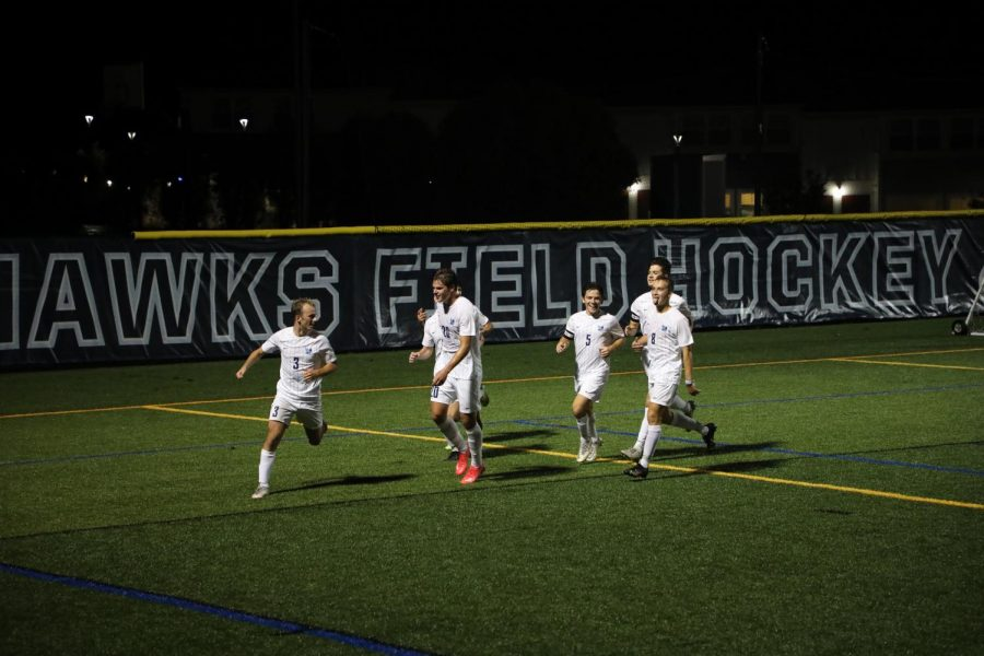 Mens soccer nabs third win in four matches