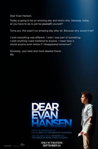 Dear Evan Hansen is being shown in local theatres near you.