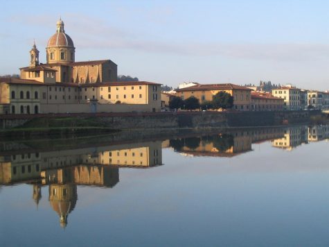 RWU offers studio-based study abroad programs in different cities, such as Florence, Italy.