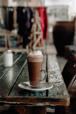 Hot chocolate is one way to get into the autumn spirit.